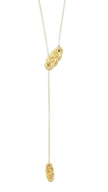 Gorjana Skye Lariat Necklace