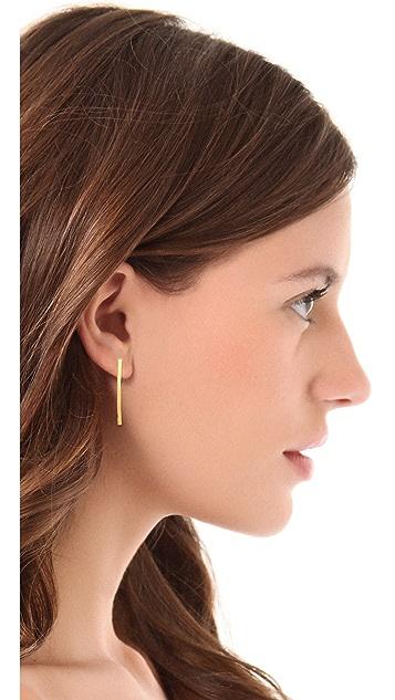 Gorjana Taner Pressed Stud Earrings