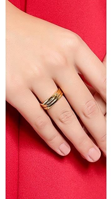 Gorjana Aria Ring Set