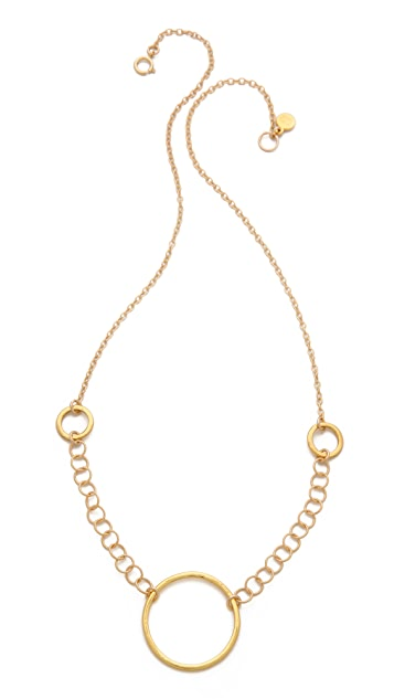 Gorjana G Ring Necklace