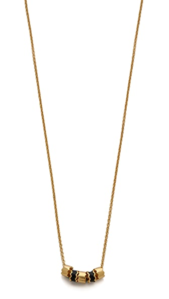 Gorjana Zigzag Enamel Small Necklace
