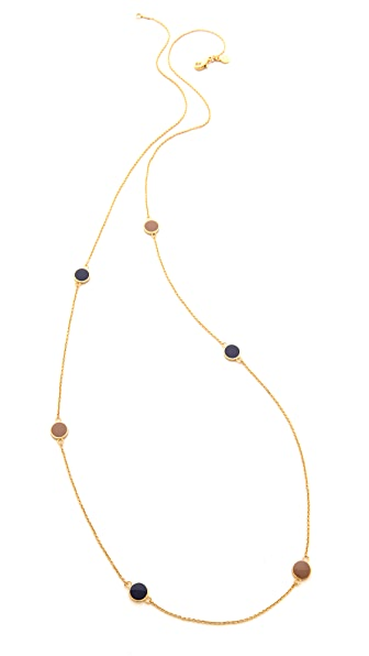 Gorjana Sunset Disc Wrap Necklace