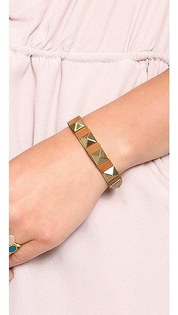 Gorjana Sunset Pyramid Stud Bracelet
