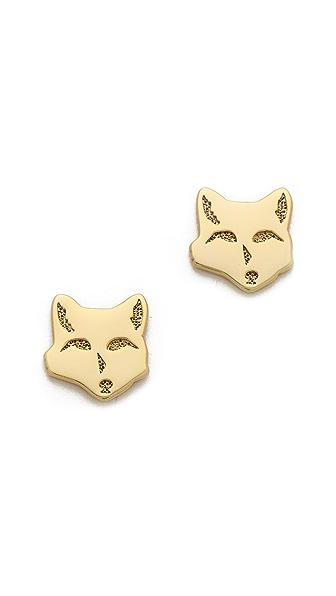 Gorjana Fox Stud Earrings