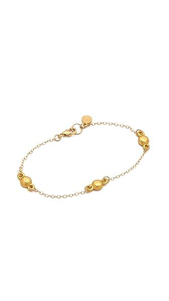 Gorjana Currin Three Charm Bracelet