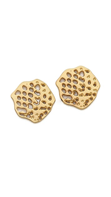 Gorjana Python Stud Earrings