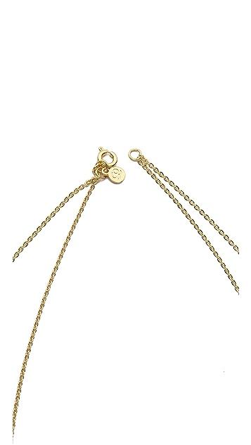Gorjana Tanner Dagger Shimmer Layered Necklace