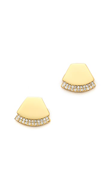 Gorjana Delano Stud Earrings