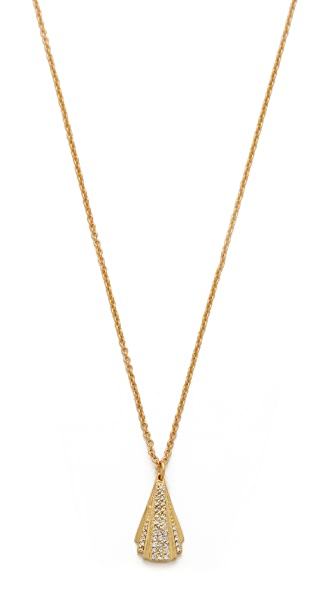 Gorjana Delano Fan Necklace