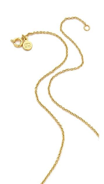 Gorjana Shimmy Star Necklace