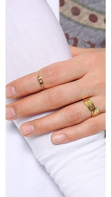Gorjana Cutout Heart Ring