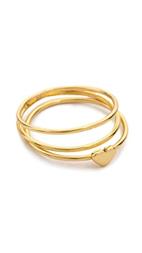 Gorjana Carina Midi Ring Set