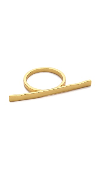 Gorjana G Pressed Bar Ring