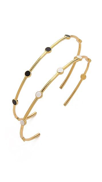 Gorjana Mae Cuff Bracelet Set