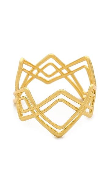 Gorjana Mesa Crossover Ring