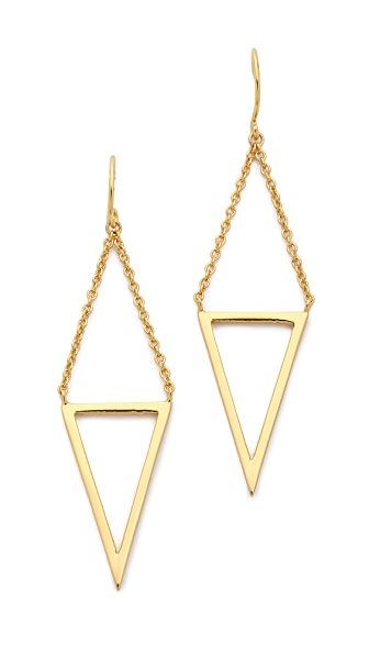 Gorjana Mika Cutout Drop Earrings