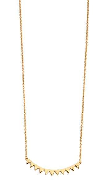 Gorjana Mika Mini Plate Necklace