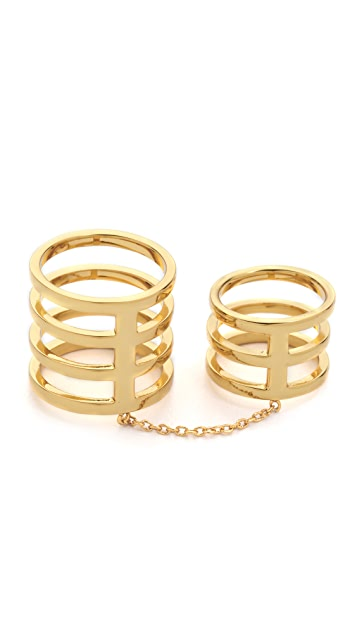 Gorjana Cage Knuckle Ring