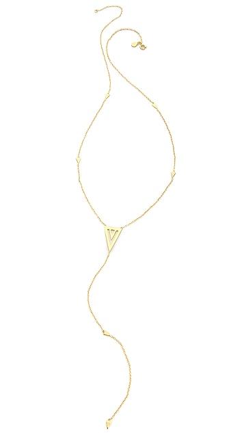 Gorjana Mika Statement Lariat Necklace