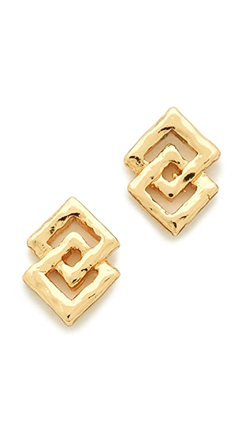 Gorjana Azra Stud Earrings