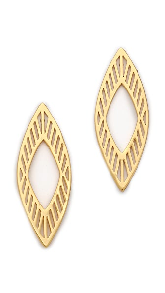 Gorjana Astoria Drop Stud Earrings