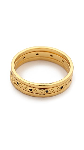 Gorjana Gia Ring Set
