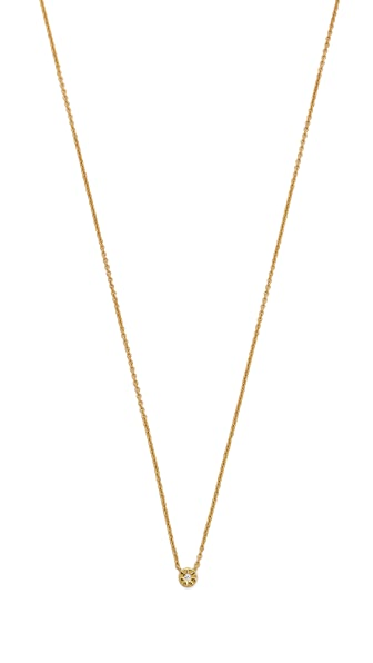 Gorjana Aura Tiny Shimmer Necklace