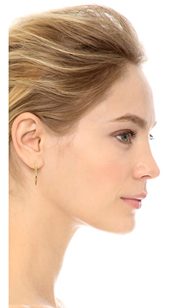Gorjana Fancy Horn Earrings