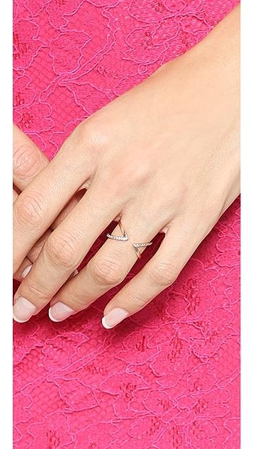 Gorjana Orbit Shimmer Cuff Ring
