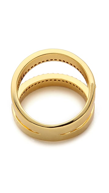 Gorjana Split Shimmer Ring