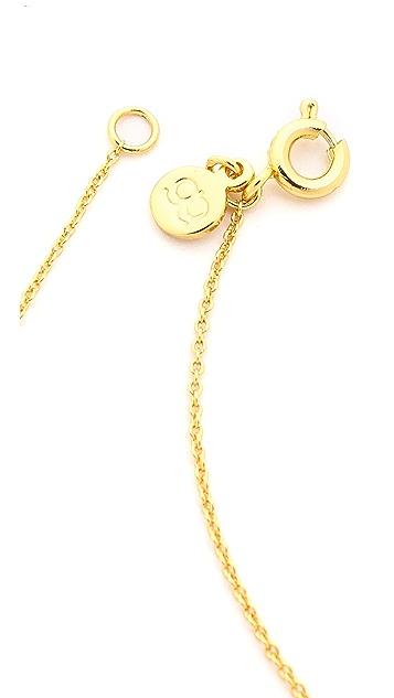 Gorjana Cyra Circle Necklace