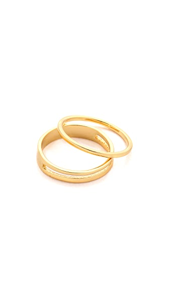 Gorjana Cameron Midi Ring Set