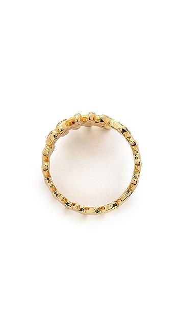 Gorjana Olympia Shimmer Wrap Ring