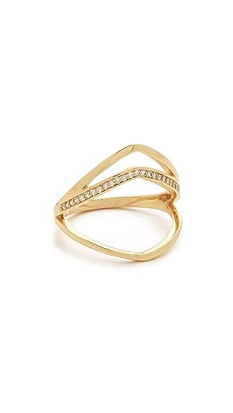 Gorjana Cress Shimmer Split Ring