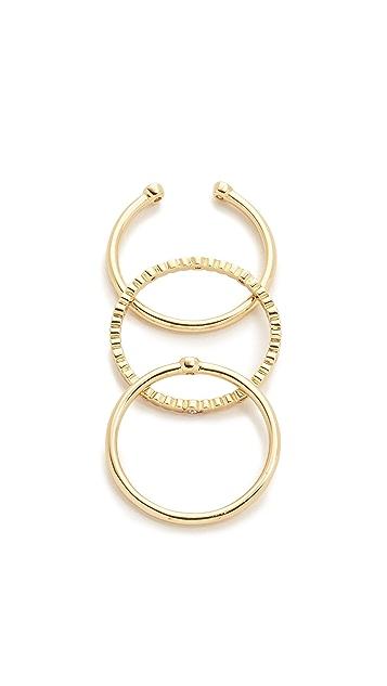 Gorjana Medley Ring Set