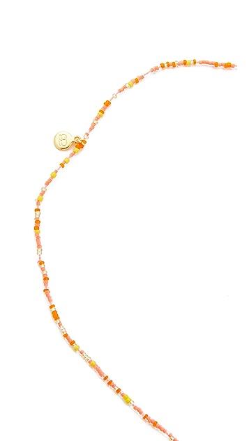 Gorjana Taner Dagger Bead Lariat Necklace