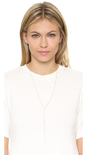 Gorjana Candice Asymmetrical Lariat Necklace