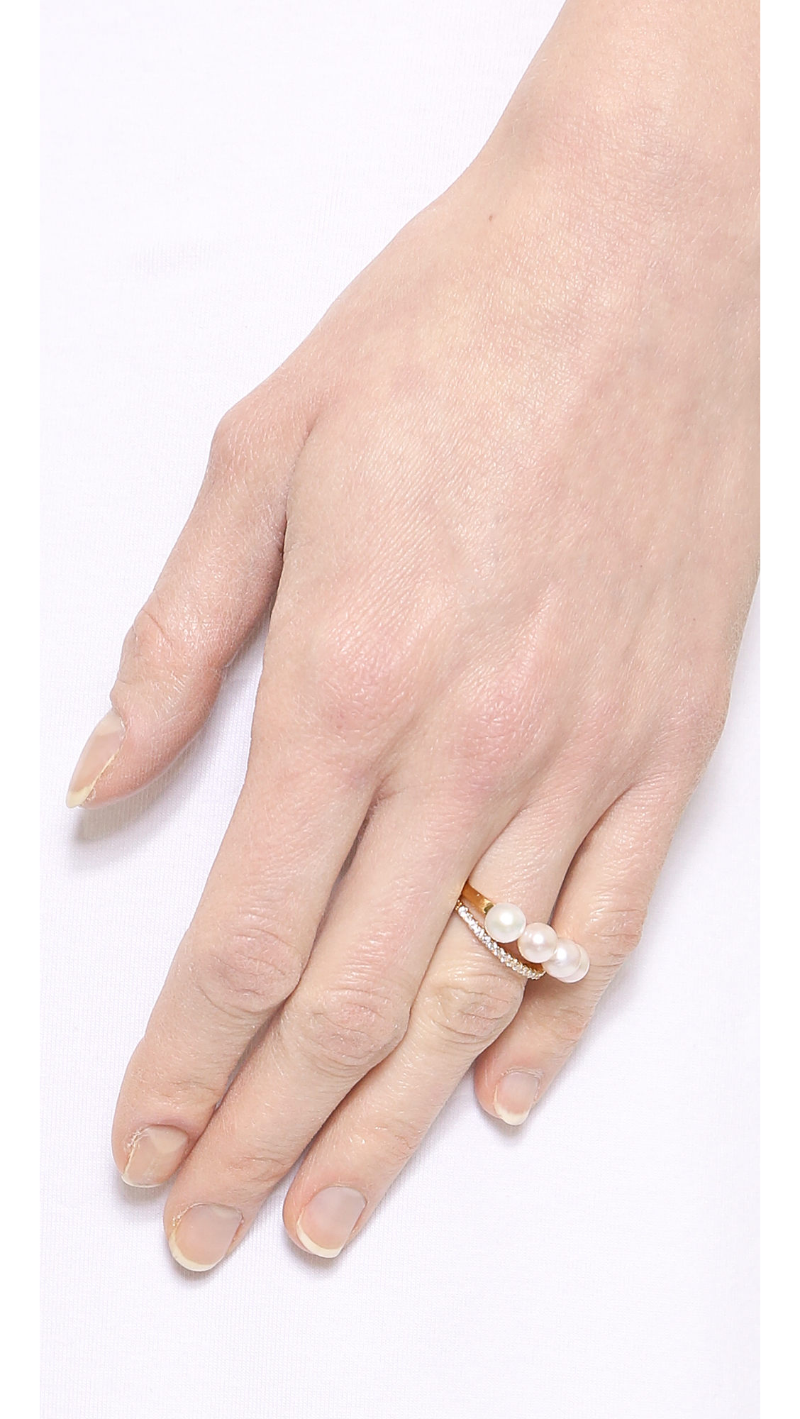 Gold Philosophy Layered Ring | SHOPBOP
