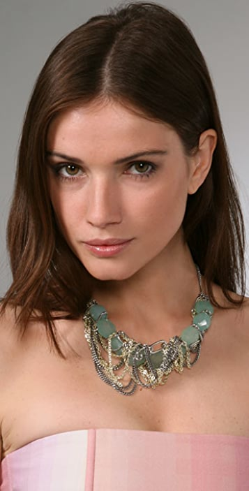 Gemma Redux Aqua Steel Necklace