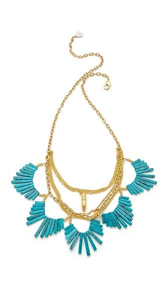 Gemma Redux Scalloped Stone Necklace