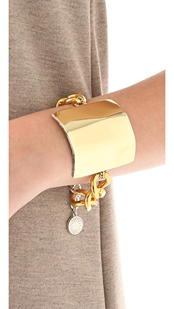 Gemma Redux Flat Plate & Link Bracelet