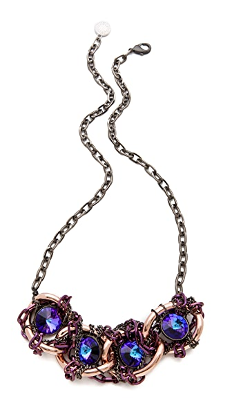 Gemma Redux Tanzanite Large Link Necklace