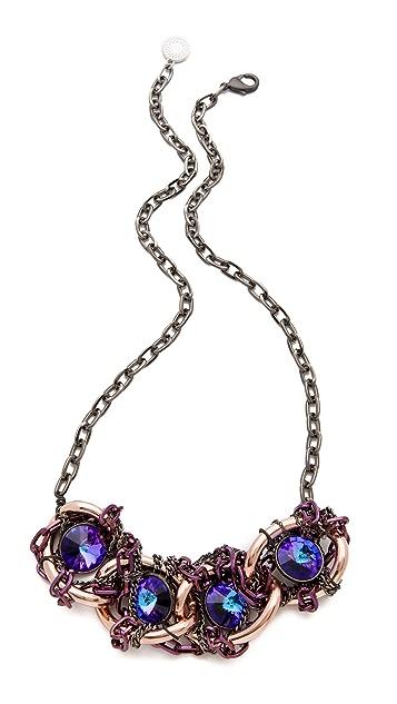 Gemma Redux Tanzanite Large Link Necklace