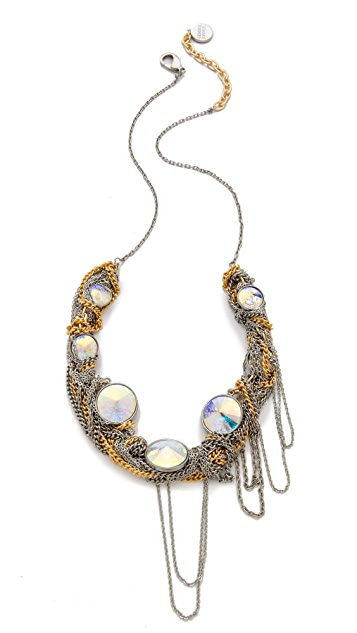 Gemma Redux Mixed Metal Necklace
