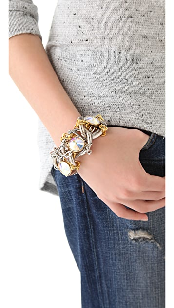 Gemma Redux Mixed Metal Bracelet