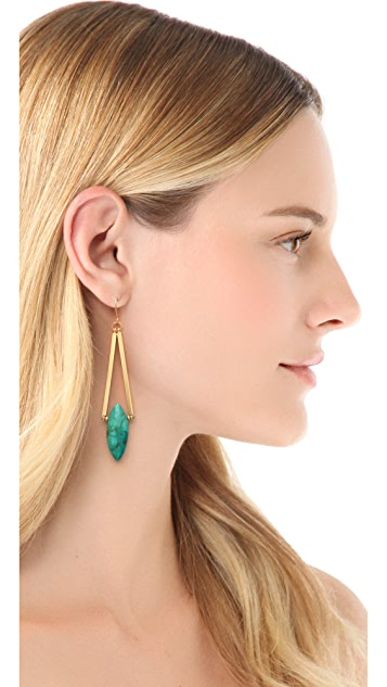 Gemma Redux Turquoise Drop Earrings