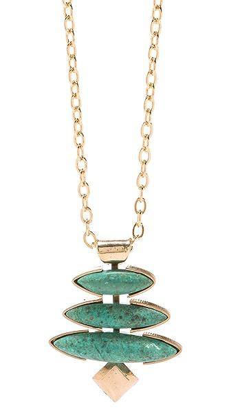 Gemma Redux Turquoise Pendant Necklace