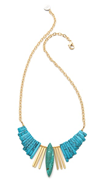 Gemma Redux Turquoise Refined Bib Necklace