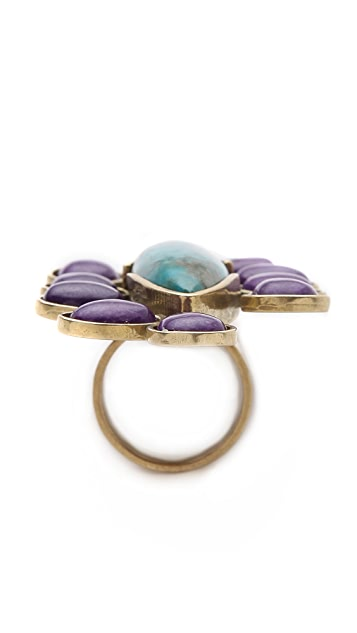 Gemma Redux Multi Stone Cocktail Ring