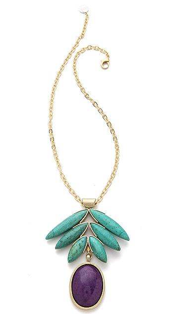 Gemma Redux Purple Jade Pendant Necklace